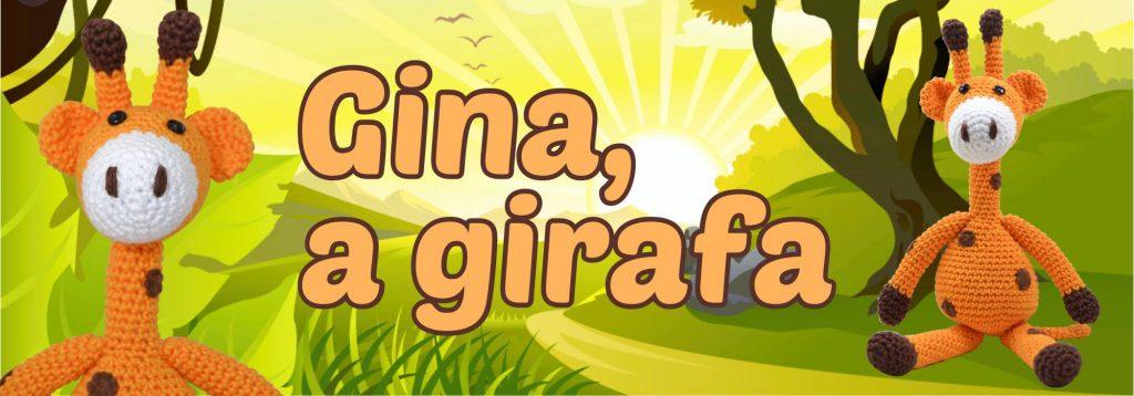 gina girafinha amigurumi