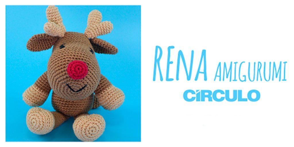 Receitas • Círculo S/A | Rena de natal, Decoração de crochê, Rena | 512x1024